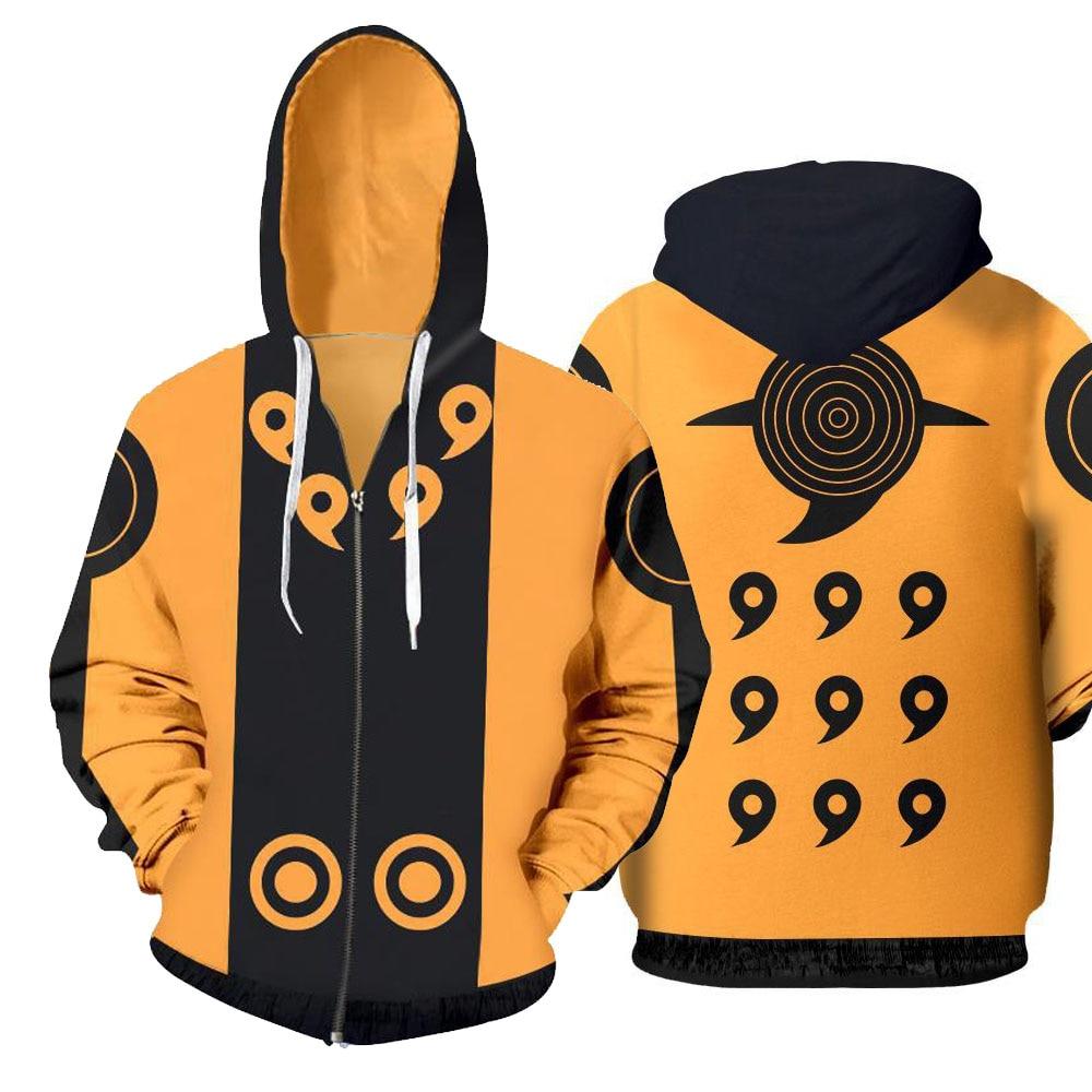 Anime Naruto 3D Hoodies Sweatshirts Uchiha Itachi Cosplay Hooded Outwear Boy Hokage Ninjia Coat Casual Pullover Jacket Luxtees (5) -