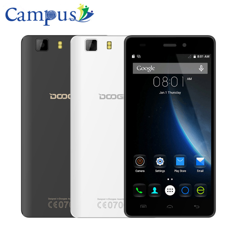 CAMPUS Doogee X5 Android 5 1 MTK6580 Quad Core Smartphone 5 0 HD 1280 720 3G
