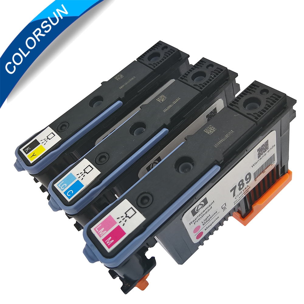3pcs/set refurbished For HP789 <font><b>printhead</b></font> compatible for HP789 printer head compatible for <font><b>HP</b></font> 789 <font><b>L25500</b></font> Printer image