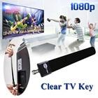 2018 Digital TV Antenna Clear TV Key HDTV Free TV Stick Satellite Indoor Antenna Receiver Signal Enhancement For Home US Plug