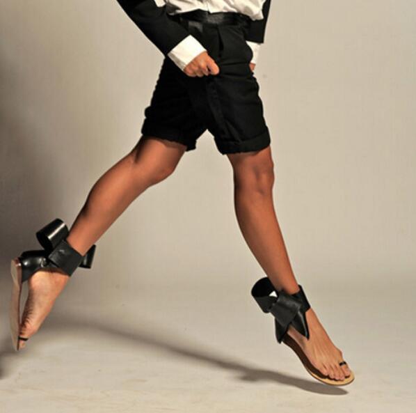 Dulce De Plana Sandalias Playa Mariposa as 44 Tamaño Nudo Slip Verano rojo Más Mujer Negro Zapatos Toe Picture As La Bowtie Picture q7Ifc