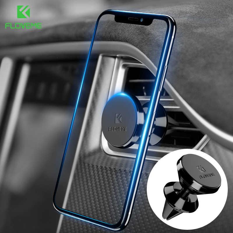 FLOVEME 360 מגנטי מחזיק טלפון לרכב GPS Navigator סוגר עבור iPhone סמסונג Stand מחזיקי תמיכה עבור טלפון רכב סטיילינג