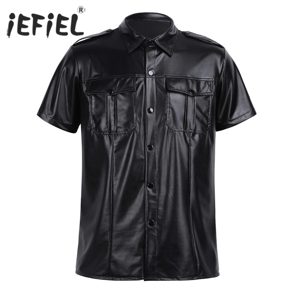HANA+DORA Mens Shirts Tactical Cargo Work Military Casual Long Sleeve Tops