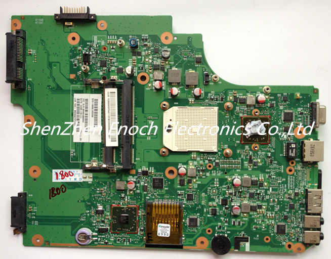 V000185580 for Toshiba satellite L505D laptop Motherboard send one AMD CPU as a gift,60days warranty stock No.368