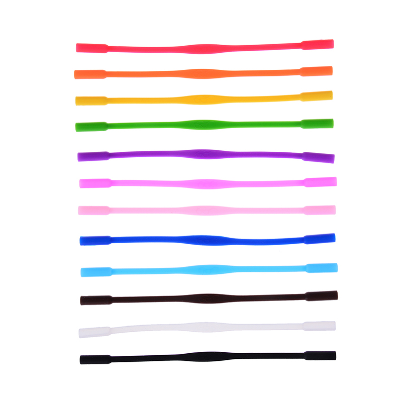 1 Pc 20 Cm Gläser Strap Neck Cord Brillen Sonnenbrille Band Seil String Halter Hohe Elastische Anti Slip Silikon Gläser Schnüre