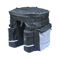 Waterproof Bicycle Bag Panniers Double Side Rear Rack Tail Seat Trunk Bag Pannier With Rain Cover