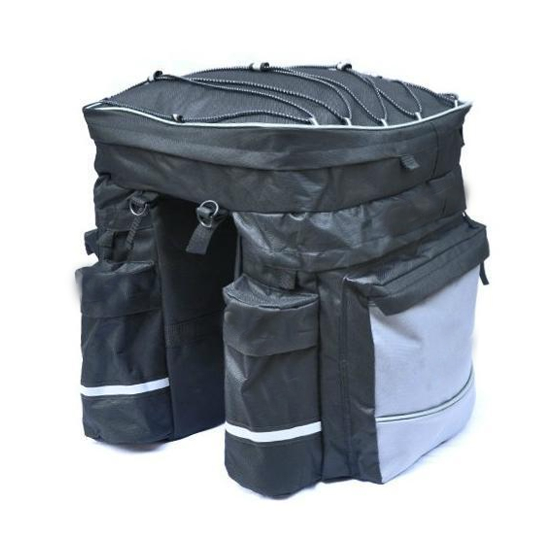 Waterproof Bicycle Bag Panniers Double Side Rear Rack Tail <font><b>Seat</b></font> Trunk Bag Pannier with <font><b>Rain</b></font> Cover Bike Bags Bicycle Accessories