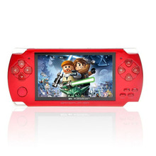Hot sale! 4.3inch portable game,8G MP5 Game Player, Camera Recorder FM radio handheld Game Console, tetris hand held games-Black