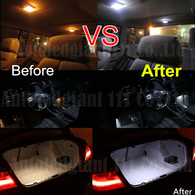 10x Canbus Cold White No Error Car LED Dome Light For BMW 3 Series E46 LED  Interior Lighting Kit M3 Convertible +Tag Light In Car Headlight Bulbs(LED)  From ...
