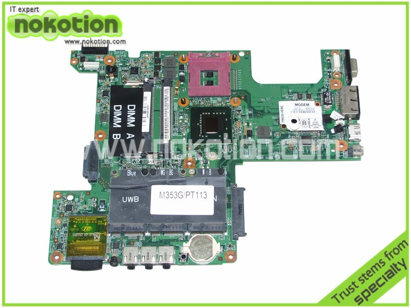 CN-0PT113 0PT113 PT113 Main board For Dell inspiron 1525 Laptop Motherboard 48.4W002.031 GM965 DDR2 Free CPU free shipping 90 days warranty new laptop motherboard for dell inspiron n5110 notebook 0j2ww8 cn 0j2ww8
