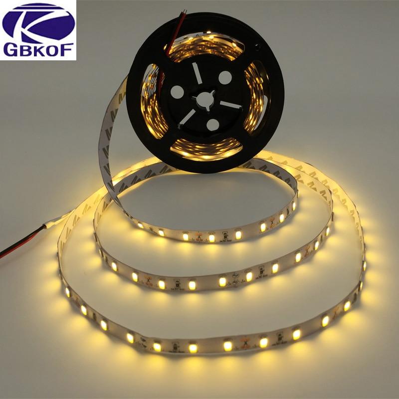 LED Strip Light 5630 DC12V 5M 300led Flexible 5730 Bar Light High Brightness Non-waterproof Indoor Home Decoration