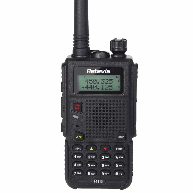 8W Walkie Talkie Retevis RT5 Station 128CH UHF/VHF Scan VOX Monitor DTMF Black/Red Hf Transceiver FM Portable Radio A9108
