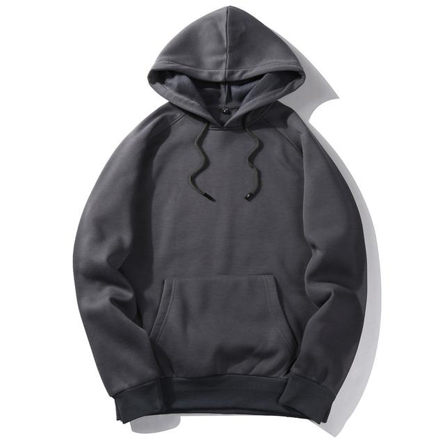Hip hop Hooded Sweatshirts Men Fleece Hoodies Mens clothing Casual Tracksuit Pullover Military Armygreen Khaki Camisa Masculina