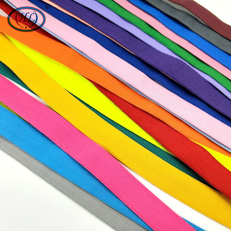 HL 2CM Width 1 Meter Colorful Highest Nylon Elastic Bands Garment Trousers Bags Home Textile Sewing Accessories DIY