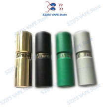 SUB TWO Elthunder MOD E Cigarette Top Refill VAPE RDA RDTA fit with 510 thread 18650 Battery   High quality mechanical mech mod e cigarette vape support 18650 battery not included electronic cigarette box mod e cigarettes fit atlantis tank vs sucks cf mo