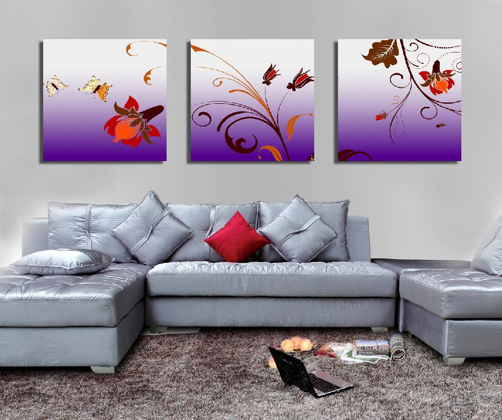 Gambar Lukisan Dinding Simpel Sabalukisan