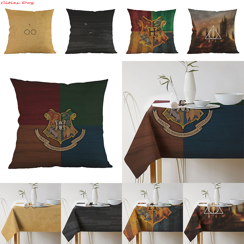 harry potter table cloth for home decoration tablecloth. Black Bedroom Furniture Sets. Home Design Ideas