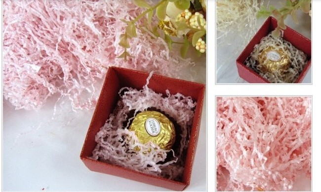 Free shipping 1packs/lot Candy box silk broken shredded paper wire shredded paper gift box filler on Aliexpress.com | Alibaba Group