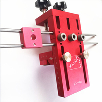 3 In 1 Woodworking Drill Guide Kit Locator Dowelling Jig For Furniture Fast Connecting Cam Fitting