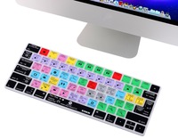 XSKN For Adobe After Effects Functional Shortcut Hotkeys Silicone Keyboard Cover Skin For Apple IMac Magic