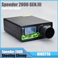 Hlurker Shooting Chronograph SPEEDER 2000 Shooting Chrony Can Storage 10 Set Of data Better Than X3200 For Airsoft Air BB Gun