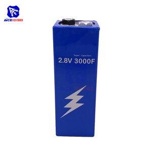 Image 5 - Супер фарадный конденсатор 2,8 В 3000F 161*56*56 мм низкочастотный ESR супер конденсатор 2.8V3000F для автомобильного транспортного средства
