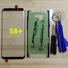 Voor Samsung Galaxy S8 Plus G955 G955F G955FD G955V Originele Telefoon Gorilla Touch Scherm Front Outer Glass Panel + Gereedschap