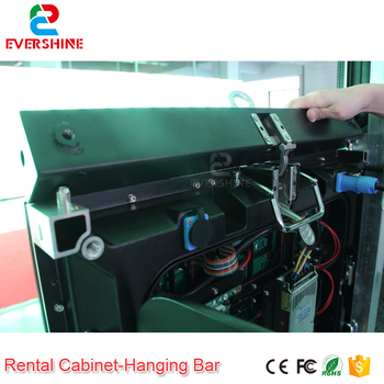 Evercollectvision hanging beam use for hang P3.91 P4.81 indoor and outdoor 500x500mm or 500x1000mm rental cabinet led screen