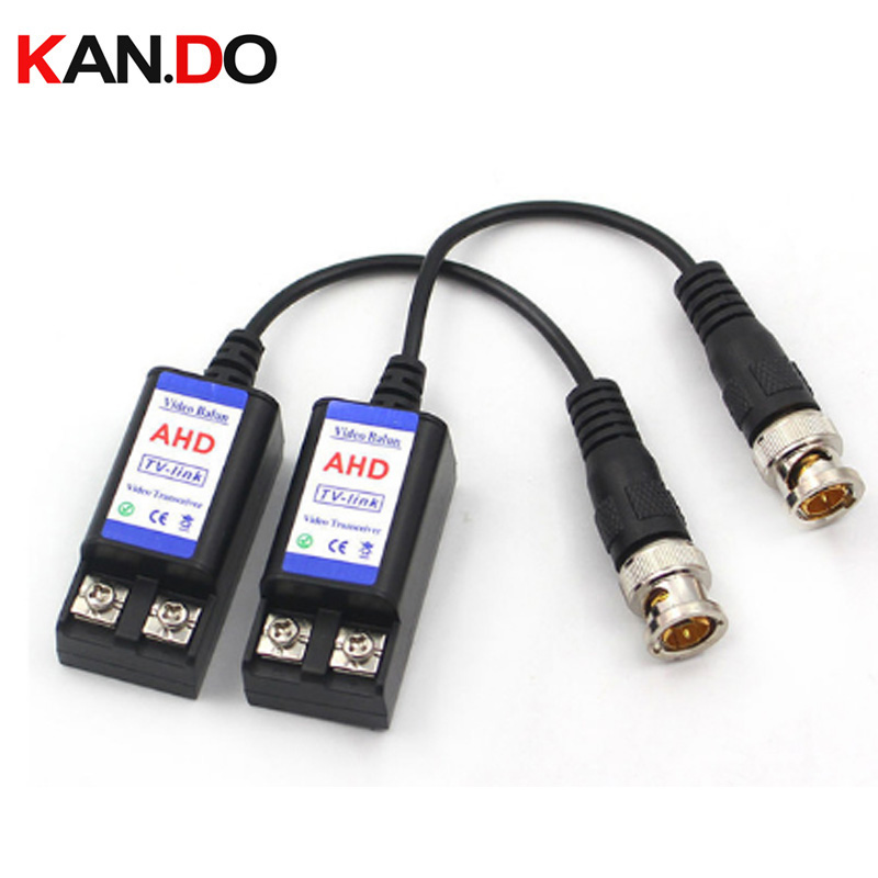 New 1 Pair Hdmi Balun Ahd Video Balun Tv-Link Factory Direct Frequency Converter No External Power Required Twist-Pair