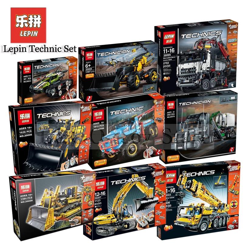 Lepin Ensemble Technique 20004 20005 20006 20007 20008 20056 20076 20033 Compatible LegoING 42009 Modèle Kits de Construction Blocs Briques Jouet