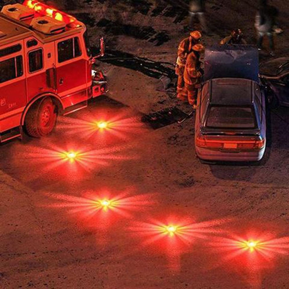 HOT LED Traffic Warning Light Strong Magnetic Safety Road Flare Emergency Lights BUS66
