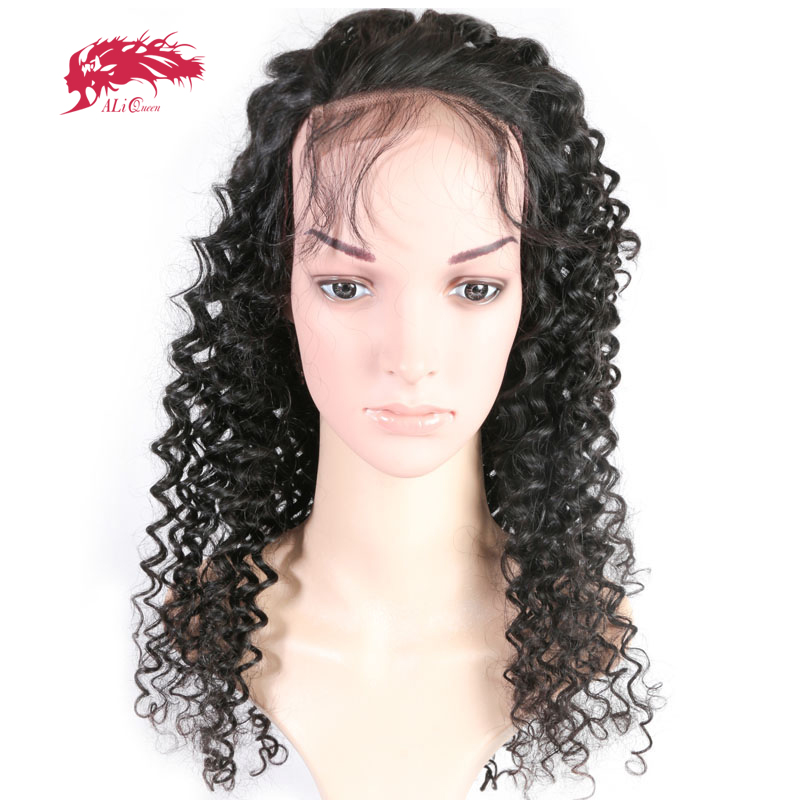 2/3Pcs Brazilian Deep Wave Bundle With 4x4 Lace Closure Wig Pre-Plucked With Baby Hair Virgin Remy Human Hair Wigs Lace Wigs