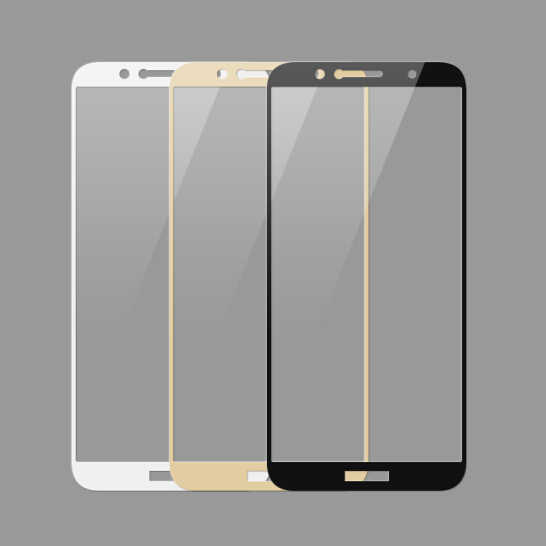 3D Full Cover Tempered For Huawei Y3 Y5 Y6 Y7 Y9 Pro Prime Glass For glass Screen Protector