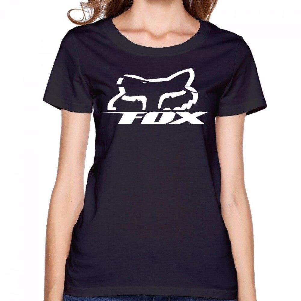 Design shirt japan - Fox Racing Cool Design Tumblr Print T Shirt Rock King Queen T Shirt Women Summer 2017