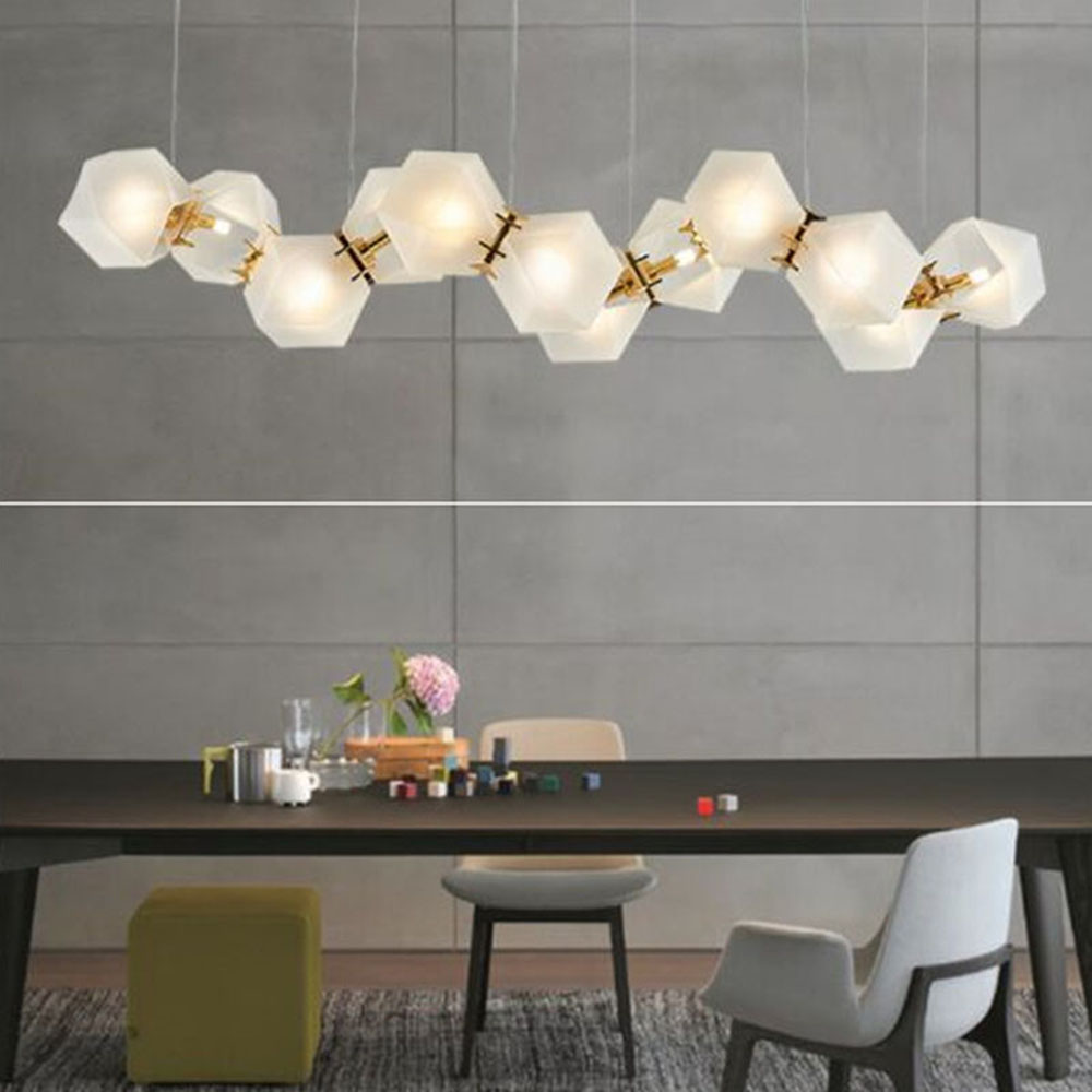 Us 133 31 34 Off Modern Welles Gl Pendant Light Long Mid Century Lighting Replica New For Living Room Dinning Bedroom Lamps B080 In