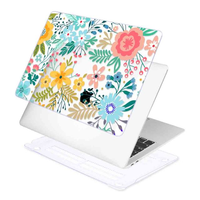 Floral Case for MacBook 1