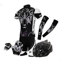 Cheap Clothes China XINTOWN Summer Cycling Clothing Breathable Short Sleeve Jersey Suit MTB Bicycle Sportswear Bike