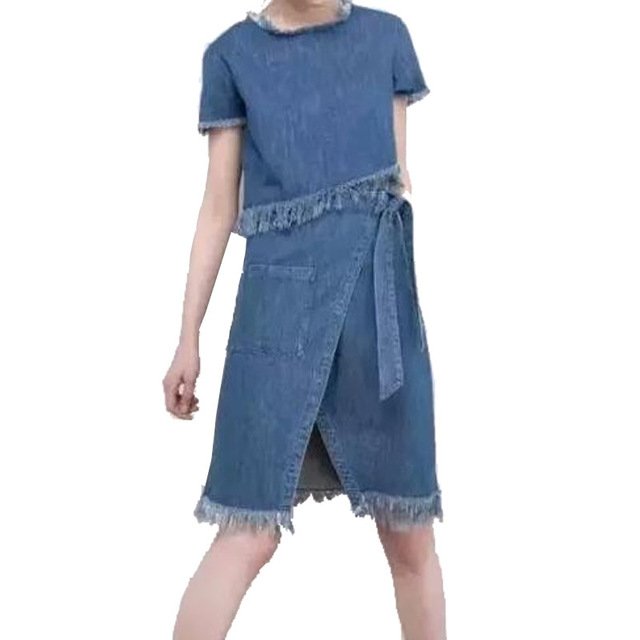 b091ba867fc5e Designer Denim Skirts - Dress Ala