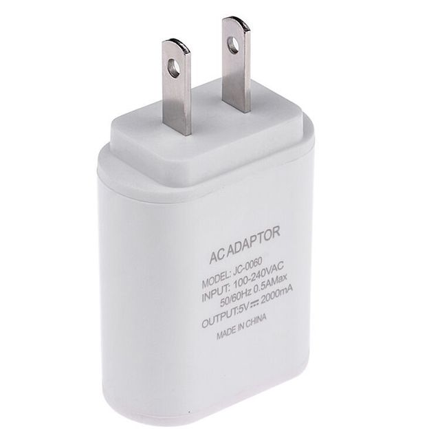 best cheap 41f30 1ee00 US $2.06 44% OFF Top Quality 5V 2A EU US UK Plug USB Fast Charger Mobile  Phone Wall Travel Power Adapter For iPhone 6 7 Plus Samsung S7edge-in  Mobile ...