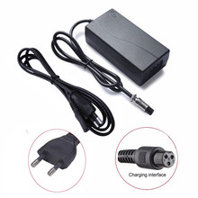 US EU Plug Power Adapter Charger For Two Wheels Self-balancing Electric Scooter Smart Unicycle Hoverboard Chargers Adapter 0.11