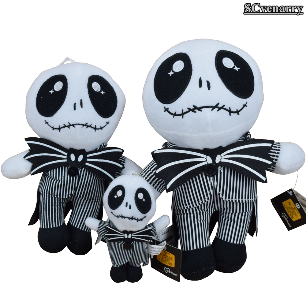 The Nightmare Before Christmas Standing JACK Plush Baby Toy doll ...