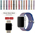 Colorful Strap for Apple Watch Band Nylon Watchbands Fabric Watch Strap Replacement Wristband Bracelet For Apple Watch 38MM 42MM