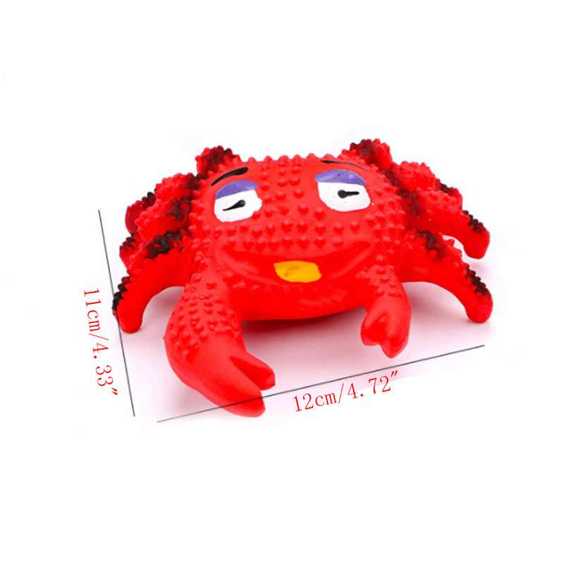 Squeaky Sound Toy Pet Latex Toy Funny Animal Shape Interactive Chewing Toy for Puppy Doggy Dog Hot