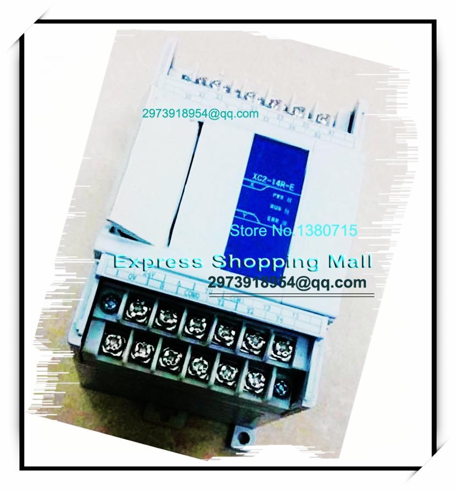 New Original 8point NPN input 6point relay output XC2-14R-E PLC AC220V 2COM new original programmable controller plc module 8point npn input 6point relay transistor output xc2 14rt c