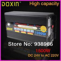 UPS 1500W DC 24V To AC 220V Car INVERTER Universal ST N032