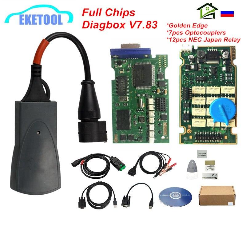 Lexia 3 PP2000 pełne chipy Diagbox V7.83 Firmware 921815C Lexia V48/V25 OBD2 diagnostyczny czytnik kodów Lexia-3 wielojęzyczny