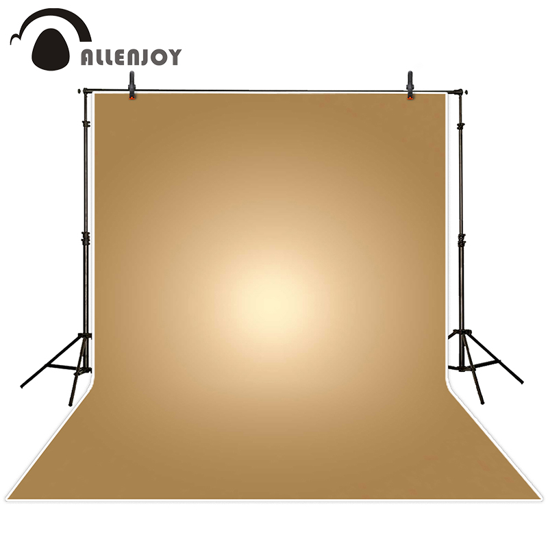 Allenjoy photographic background Yellow glow gradient backdrops baby children photo photocall 8x12ft