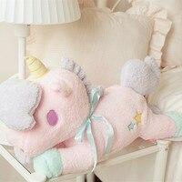 Lagre 55cm Lovely Unicorn Plush Toy Soft Stuffed Animals Dolls For Baby Girls Kids Lover Children Best Christmas birthday Gift