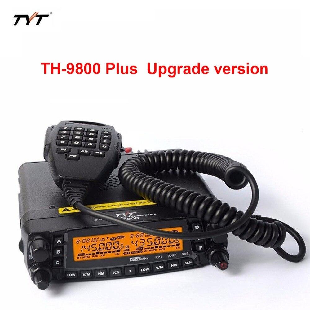 Professionnel TYT TH-9800 Automobile Radio Station 29/50/144/430 mhz & 26-950 mhz Livraison gratuite 1801A ou plus récent 1806A Vision