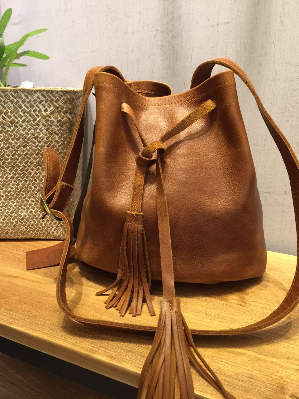 ФОТО Vendange 2017 new fashion Eoupean and American Style geniune leather Handmade small Bucket bag8857S